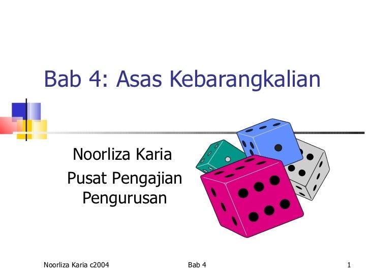 Bab4 kebarangkalian