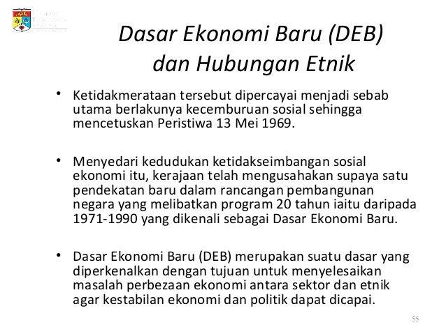 Usaha Dasar Ekonomi Baru 1971