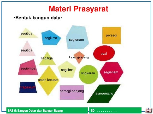 ZainalSmartClass Be Smart for Exciting Live : \u0026quot;JAGOAN MATEMATIKA\u0026quot; KELAS 5 SD SifatSifat Bangun