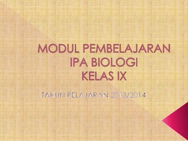 Bab 6 bioteknologi kls 9i