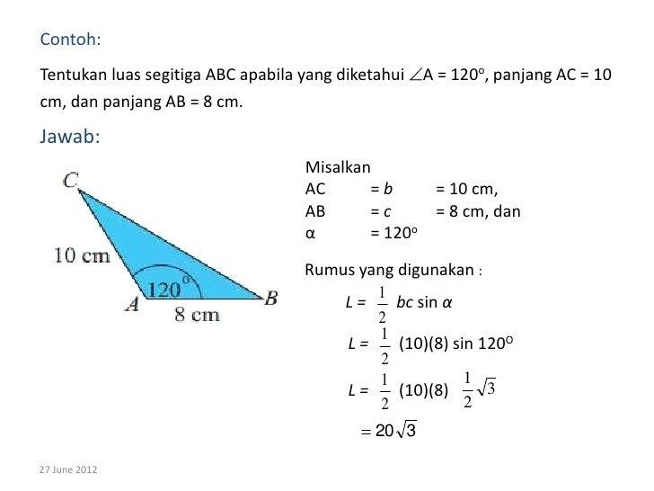 Bab 6 trigonometri