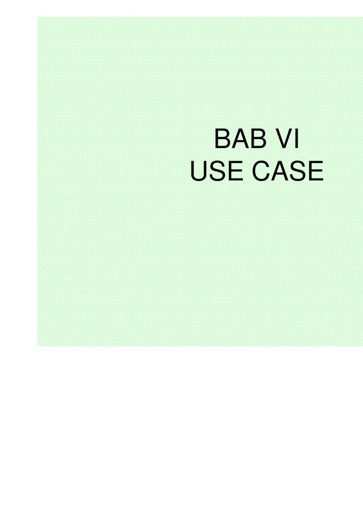 BAB VIUSE CASE