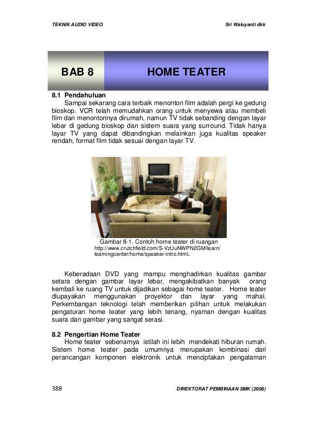 Bab 8 home teater