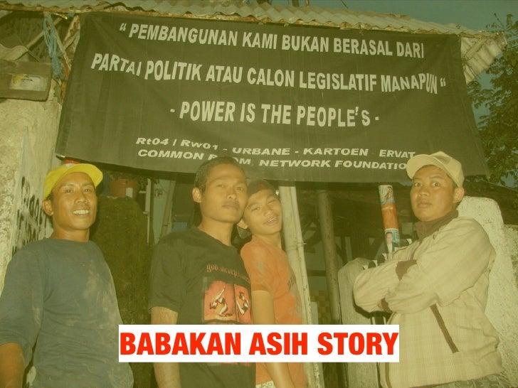 Babakan Asih Water Story
