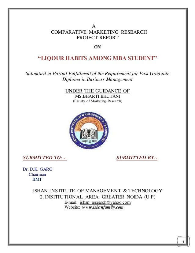Master Of Marketing Research Mba Market Research Marketing