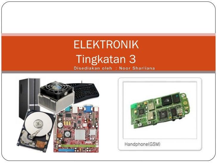 Bab elektronik ting3