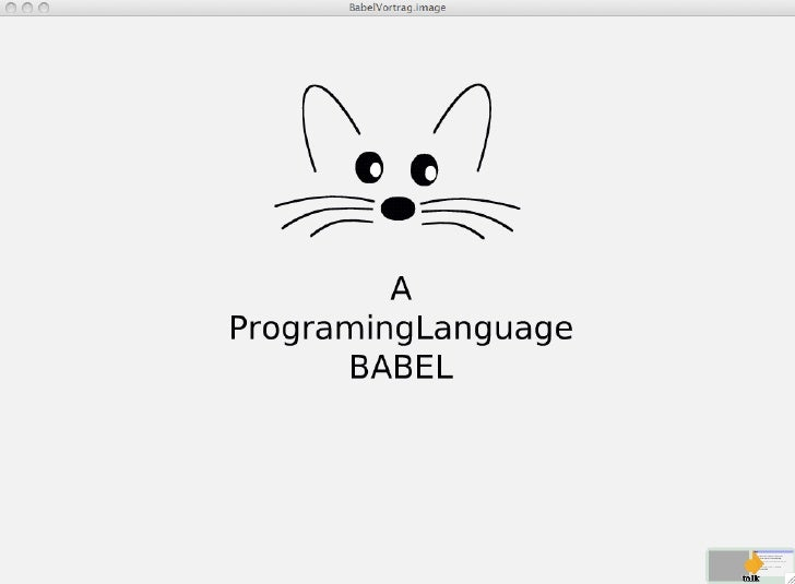 A Programming Language Babel