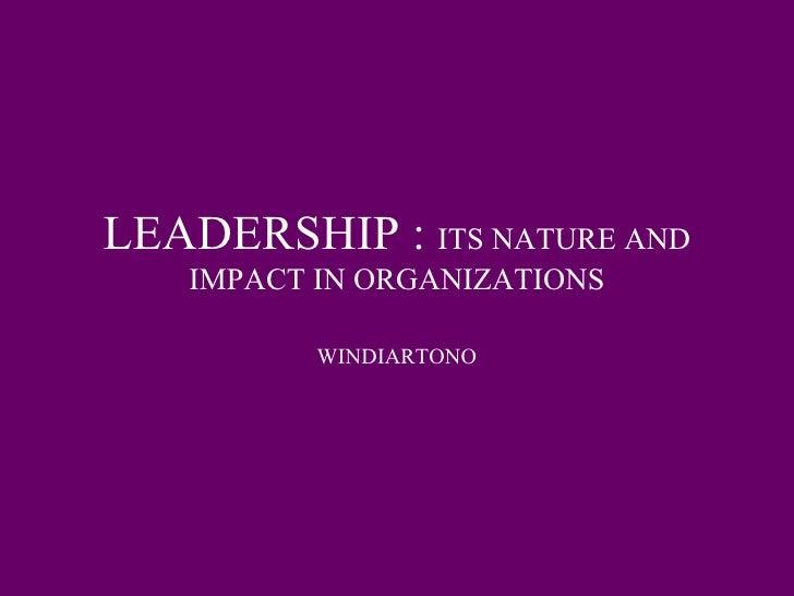 Bab Empat Leadership