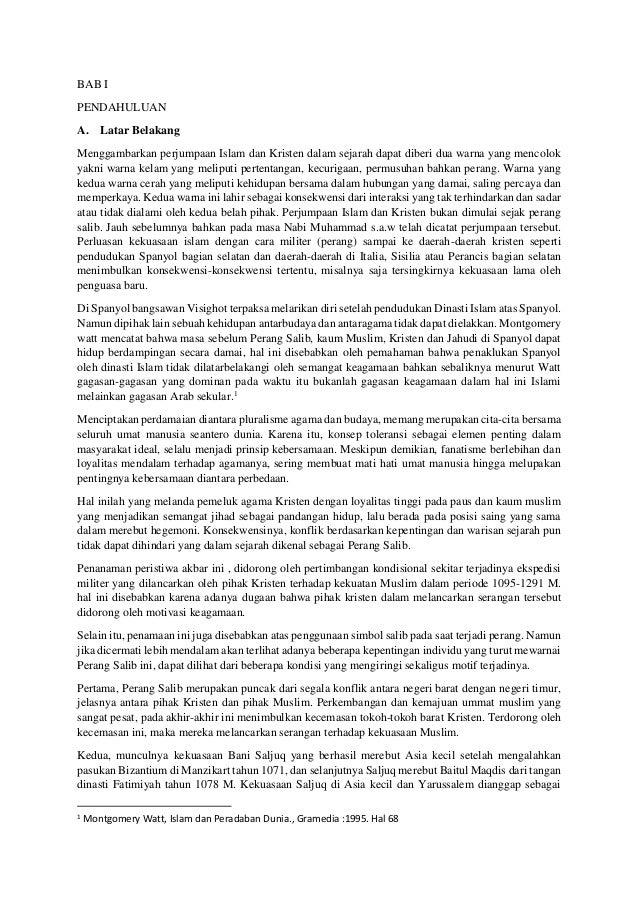 makalah perang salib, Rifki Aminuddin