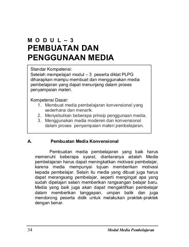 Bab iii modul media