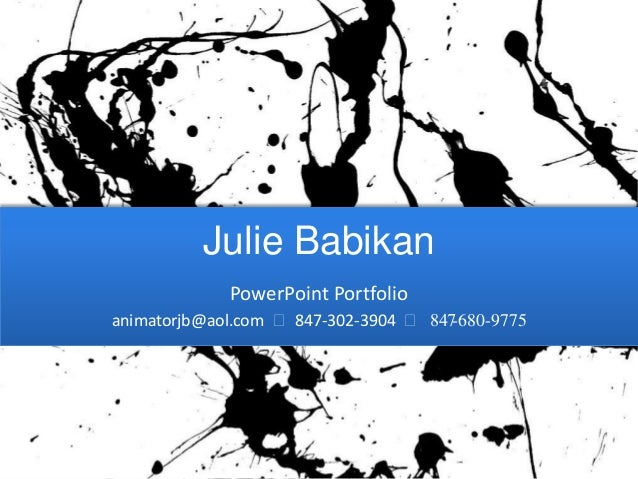 Babikan power point samples 0313