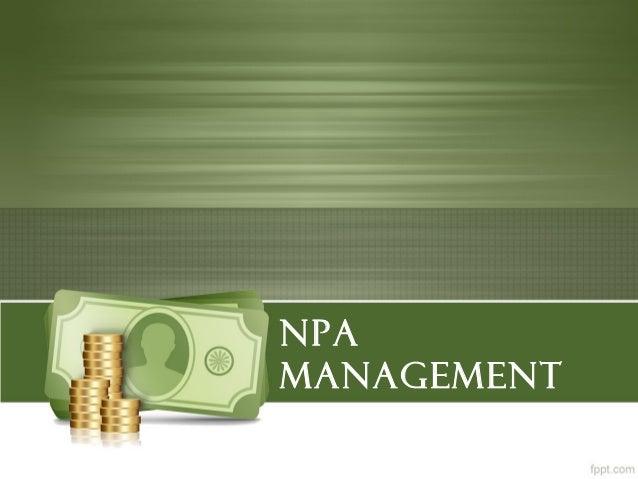 Non Performing Assets (NPA)