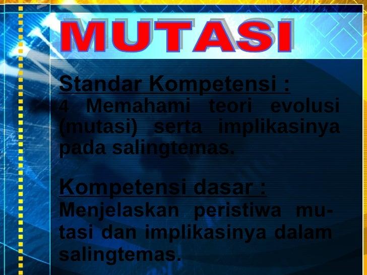 Bab mutasi