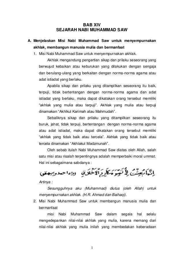 Bab 14 Misi Nabi muhammad