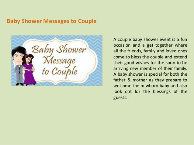 baby shower messages to couple a couple baby shower event