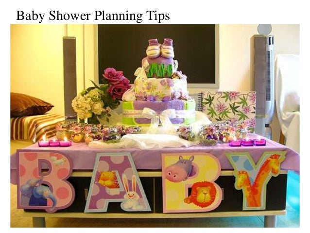 baby shower planning tips