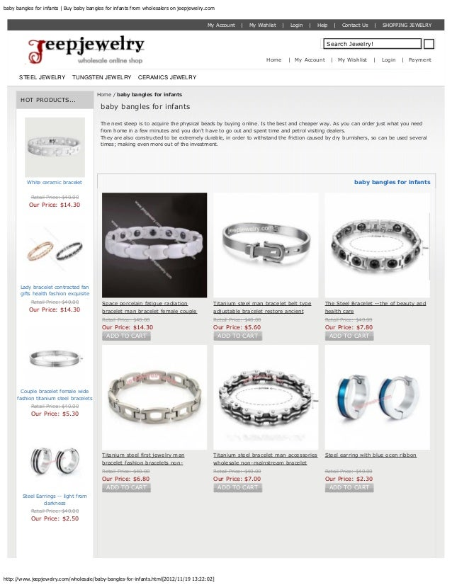 baby bangles for infants | Buy baby bangles for infants from wholesalers on jeepjewelry.com                               ...
