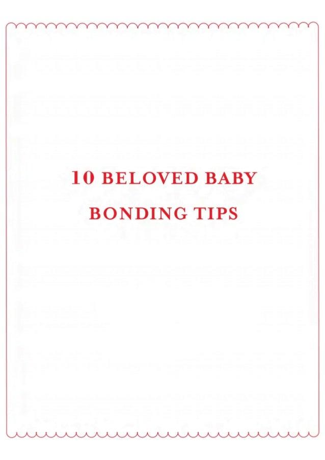 Baby bonding tips