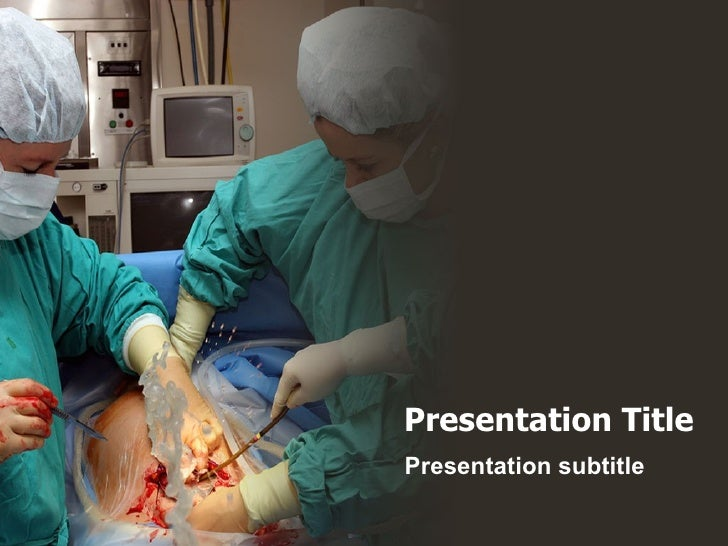 Baby Born Operation powerpoint template