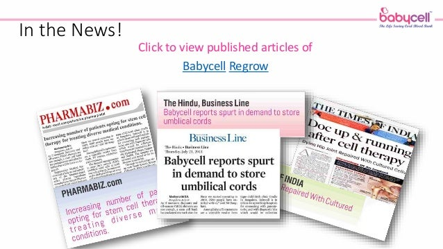 Cord Blood Banking Cost >> Babycell India - Umbilical Cord Blood Stem Cell Banking