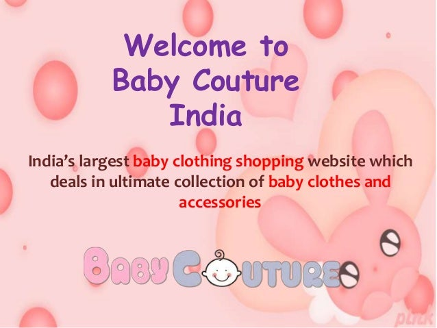 Baby Couture India Baby Girl Clothes line