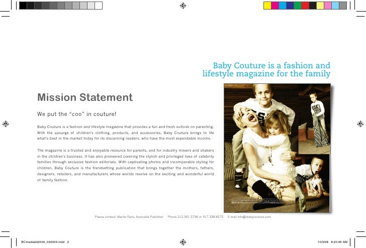Fashion Couture Magazine Baby Couture is a Fashion And
