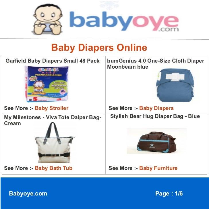 Baby diapers online