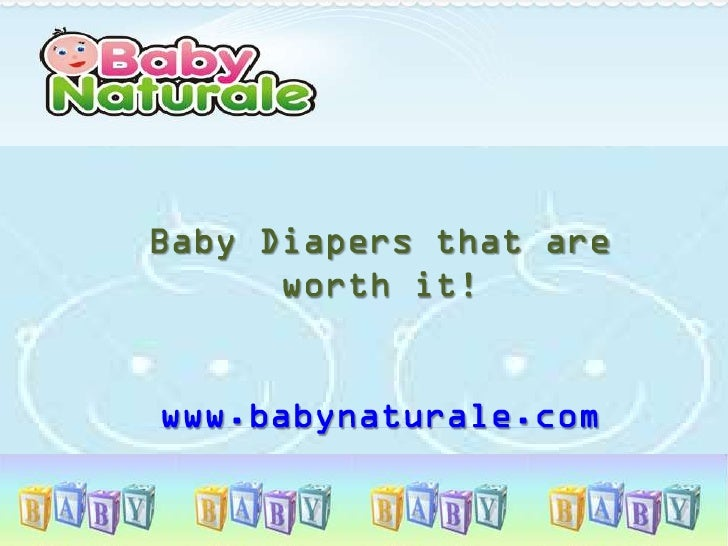 Baby diapers that are worth it!