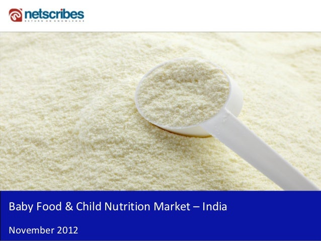 Insert Cover Image using Slide Master View                               Do not distortBaby Food & Child Nutrition Market ...