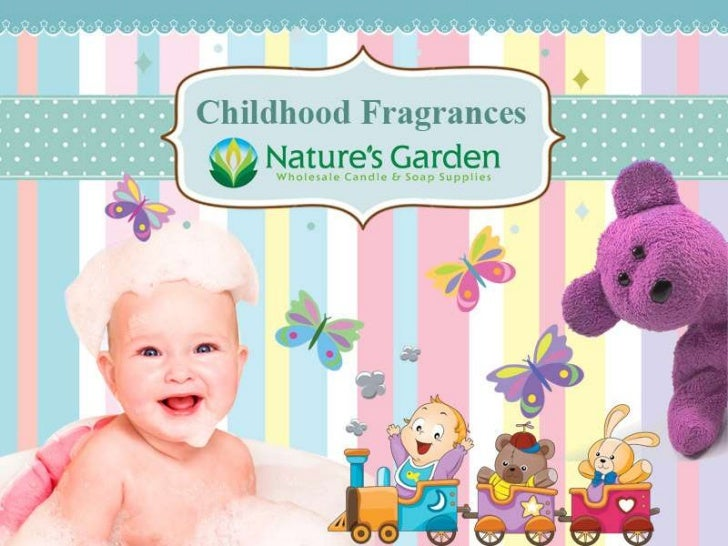 Baby fragrances by Natures Garden