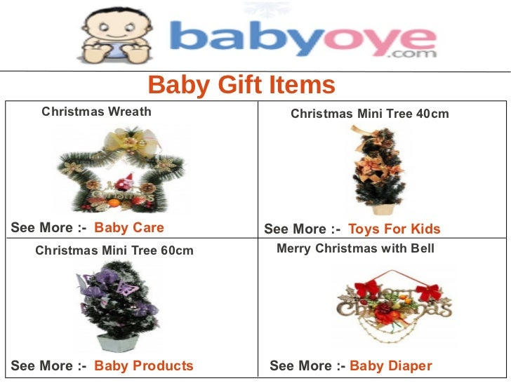 Baby gift items