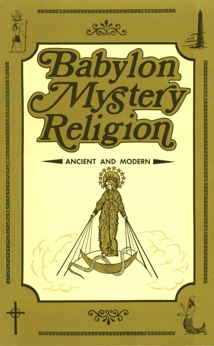 Babylon mystery religion (r.woodrow)