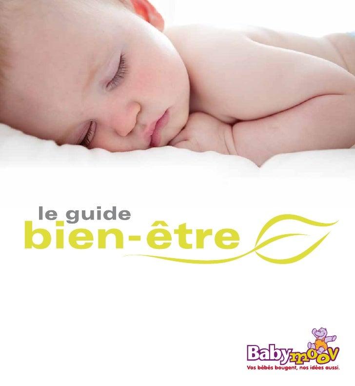 Guide bien-être de bebe