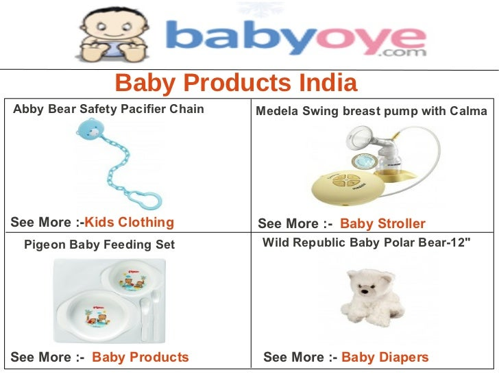 Baby products india