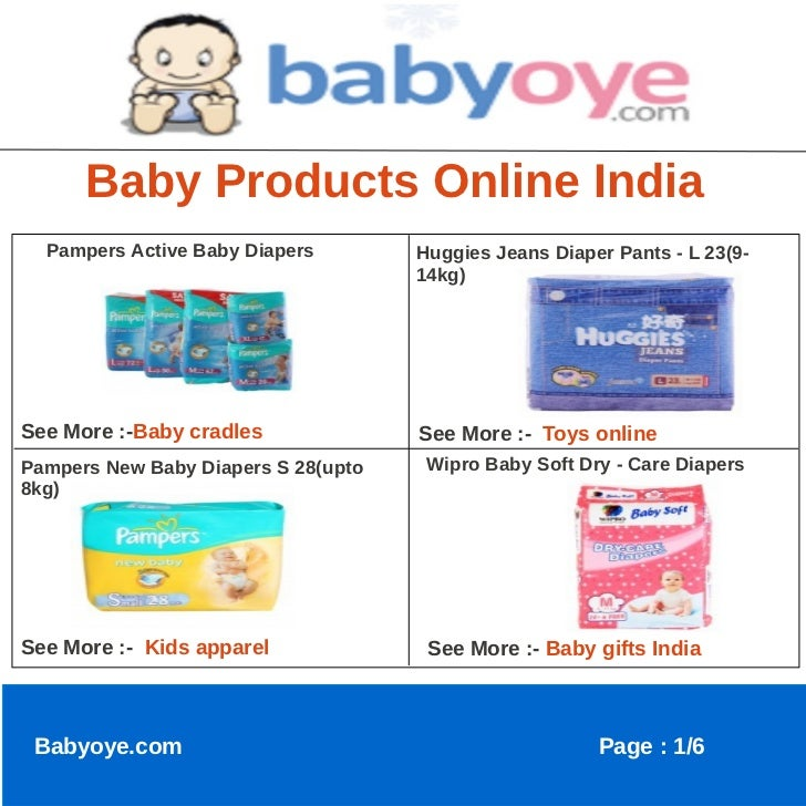Baby Products Online India  Pampers Active Baby Diapers        Huggies Jeans Diaper Pants - L 23(9-                       ...