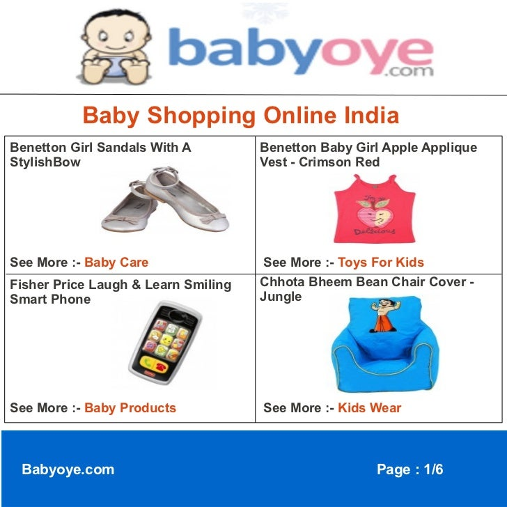Baby shopping online india
