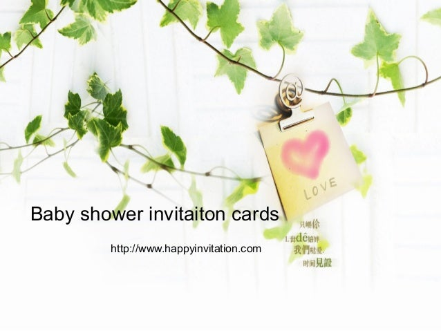 Baby Shower Invitation Card is the best ideas you have to choose for invitation example