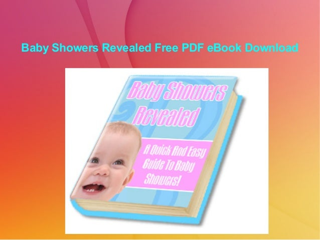 Baby Showers Revealed Free PDF eBook Download