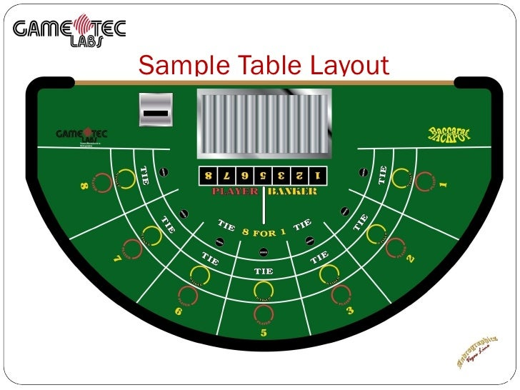 4 card poker table layout