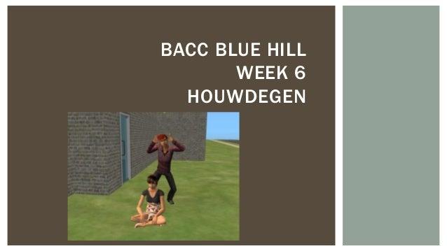 BACC BLUE HILL WEEK 6 HOUWDEGEN