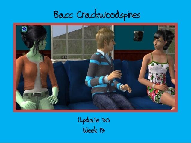Bacc Crackwoodspines Week 13 Update 30