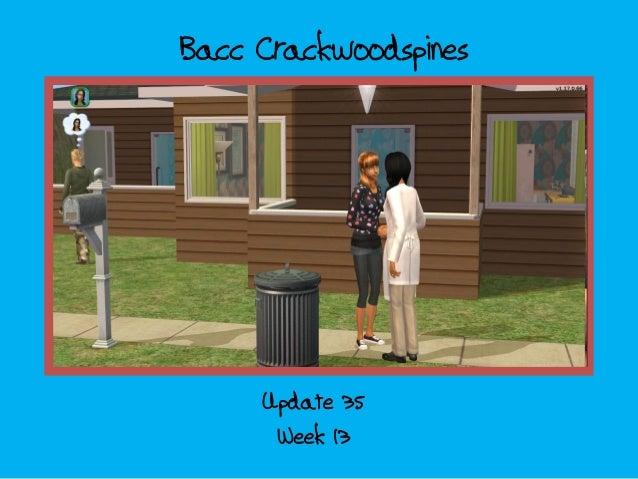 Bacc Crackwoodspines; update 35 - week 13