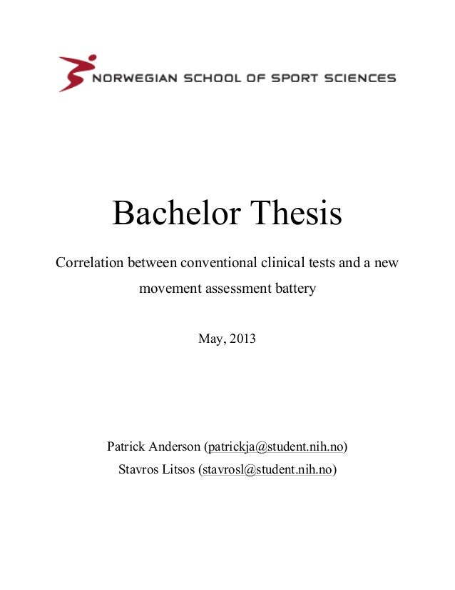 is a thesis required for a bachelor degree A thesis or dissertation is a document submitted in support of candidature for an academic degree or professional qualification presenting the.