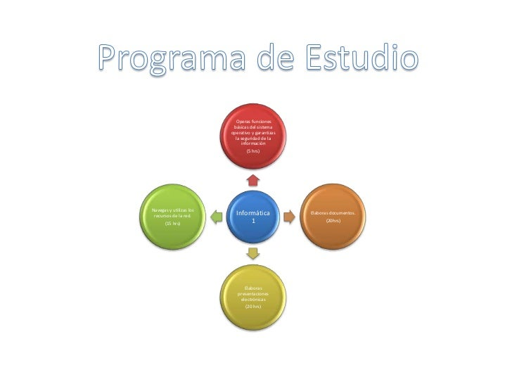 Programa de Estudio<br />