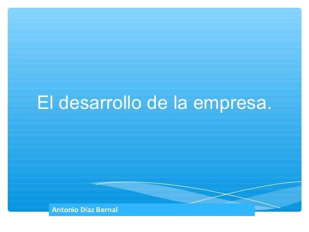 Bachillerato 2 economia de la empresa presentacion