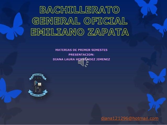 Bachillerato general oficial