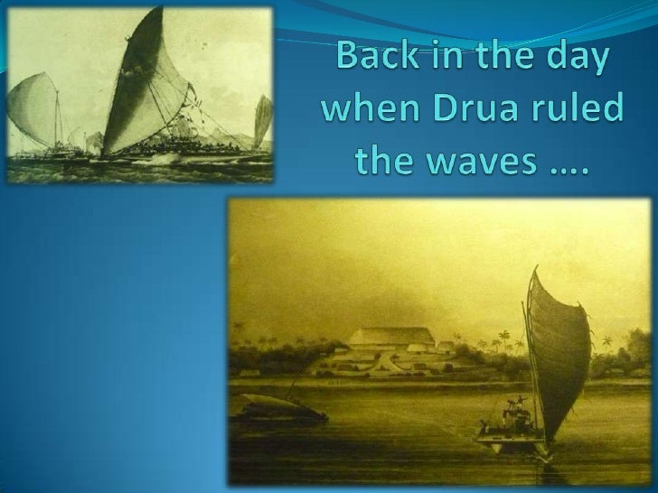 While the South Pacific can                                                      claim to have developed and              ...