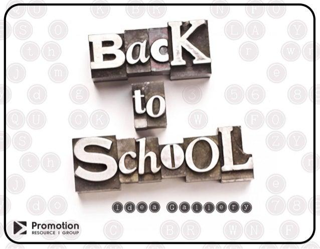 Back 2 School 2014