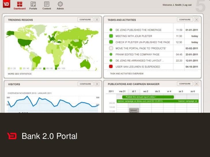 Bank 2.0 Portal