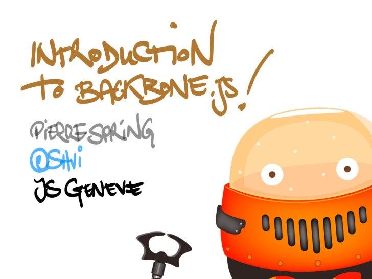 JSGeneve - Backbone.js